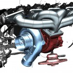 mercedes-cls-motor-raum-assembly
